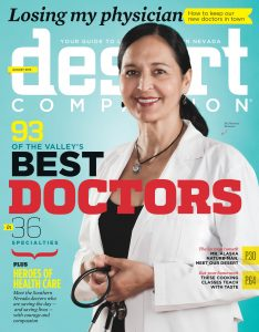 Desert Companion Doctors 2013 Cover