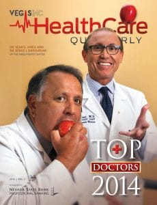 Healthcare Quarterly Top Docs 2014 Cover